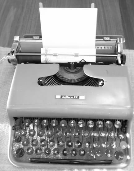 Typewritten Letters (USB optional)