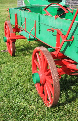 """The Wells Fargo Wagon is … """