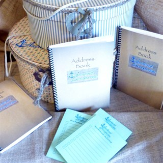 Anchored Scraps Address Book Debuts