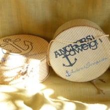 The Anchored Scraps Correspondence Hat box (& April 2015 AnchoredScraps Recap)