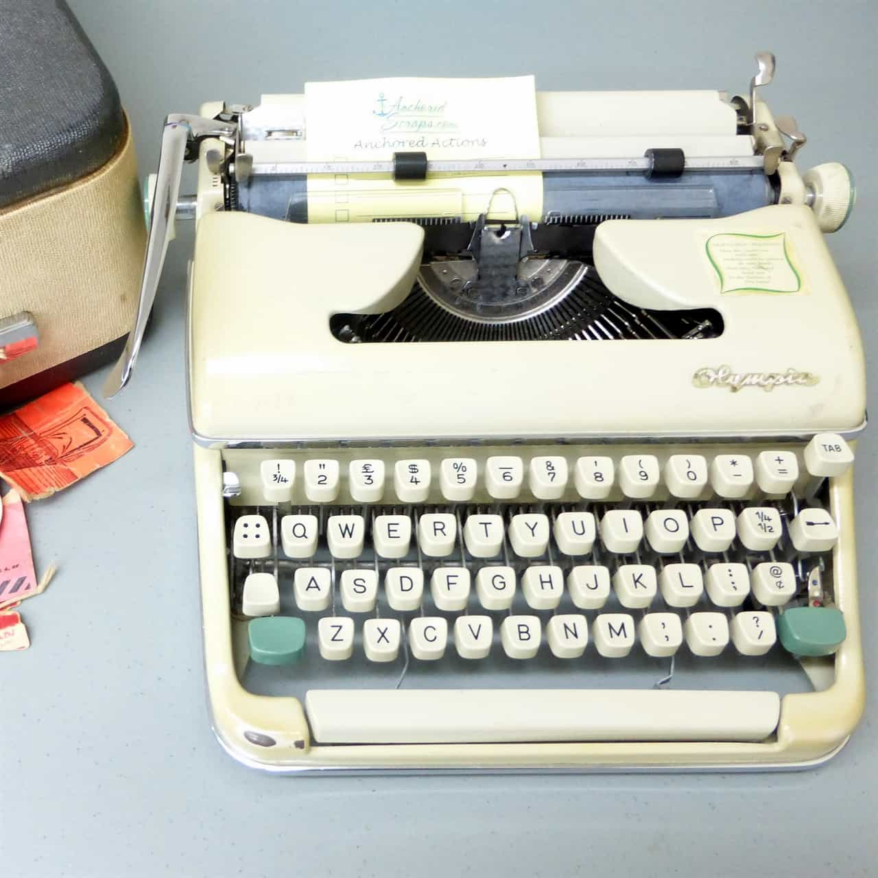 Dad's typewriter