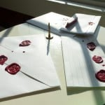 In praise of sealing wax for finishing our letters