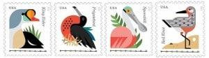 USPS Coastal Birds