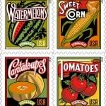 Summer Harvest Stamps (& Farmer's Market)