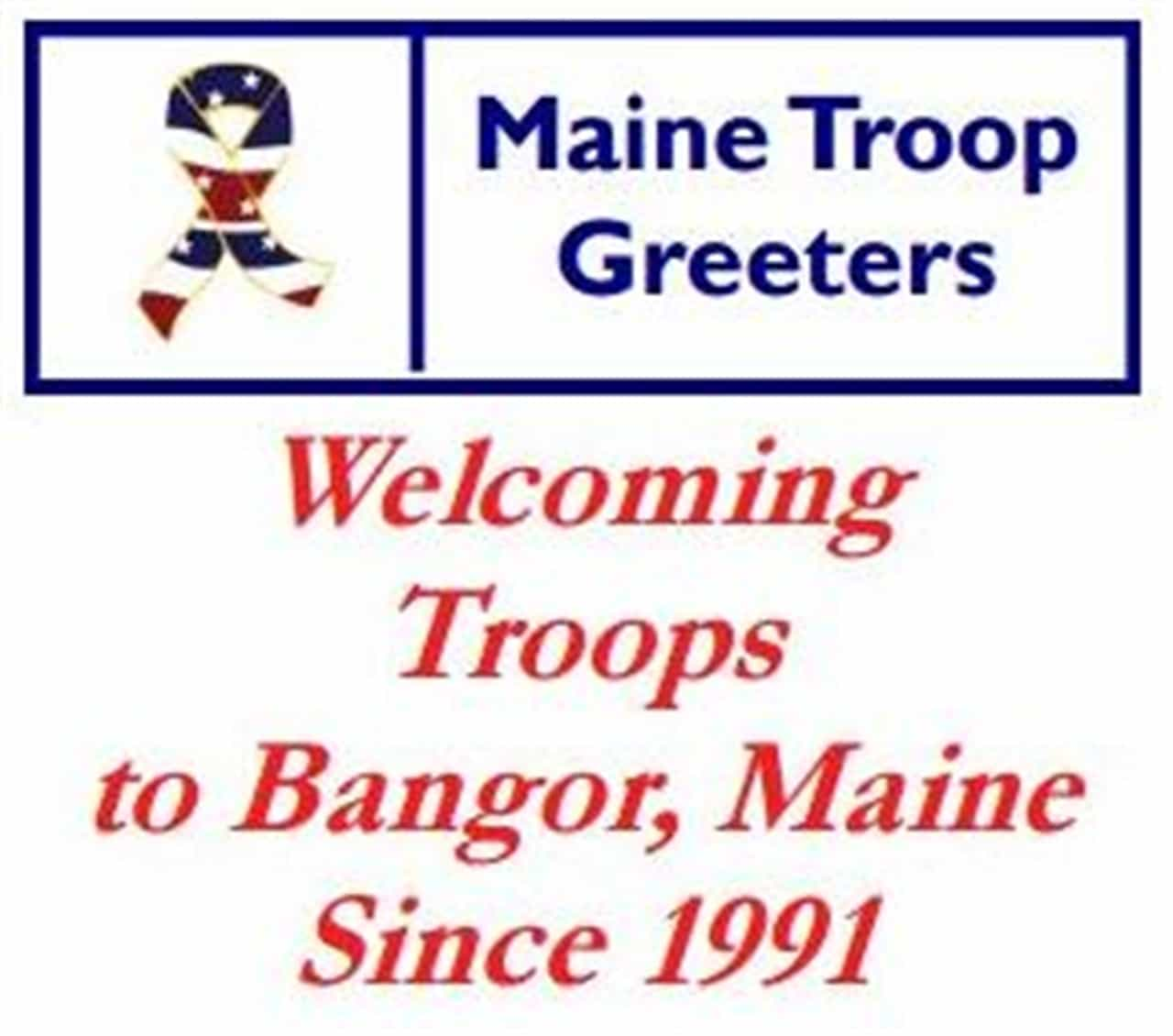 Thank you Maine Troop Greeters !