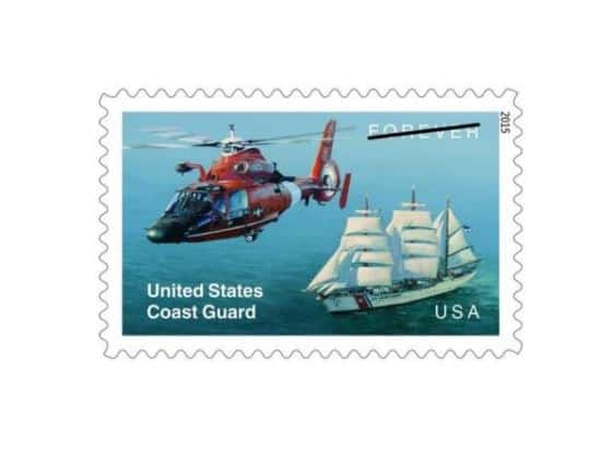 New stamp honors the United States Coast Guard