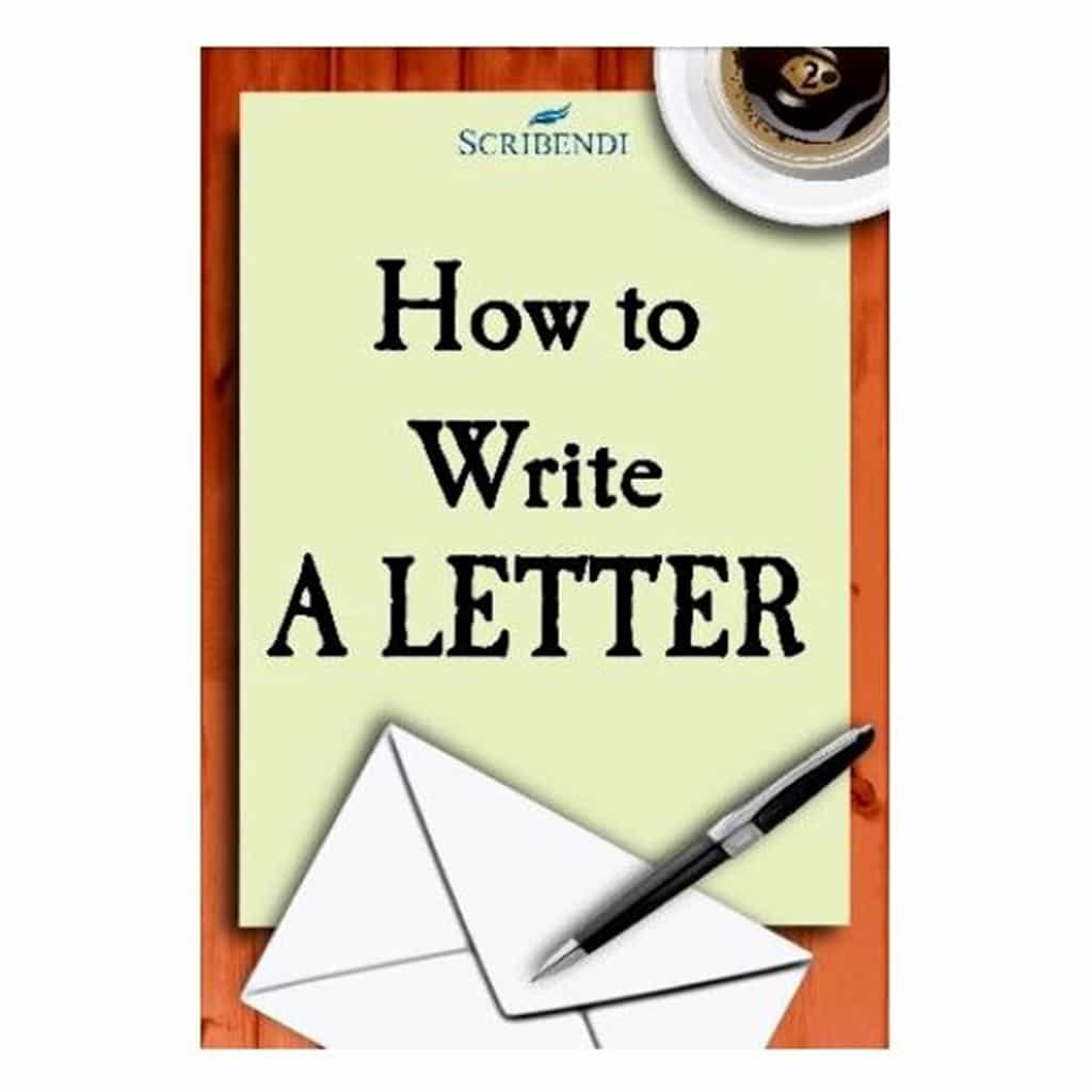 """How to Write a Letter"" (book by Scribendi.com)"