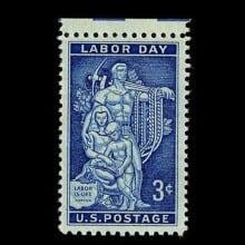 Labor Day 1956 Commemorative Stamp