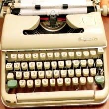 Typewriter Tuesday: Dad's Typewriter is back!