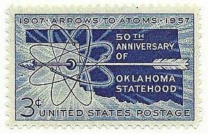 300px-Oklahoma_1957_Statehood_Stamp