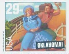 OklahomaMusicalStamp