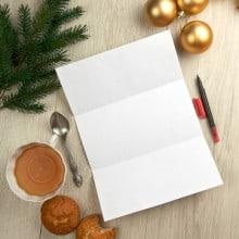 Writing Christmas NewsLetter Hybrid