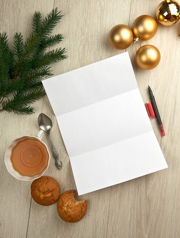 Writing Christmas NewsLetter Hybrid