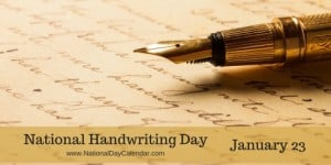 National-Handwriting-Day-January-23