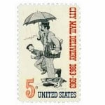 #1238 – 1963 5c City Mail Delivery_square