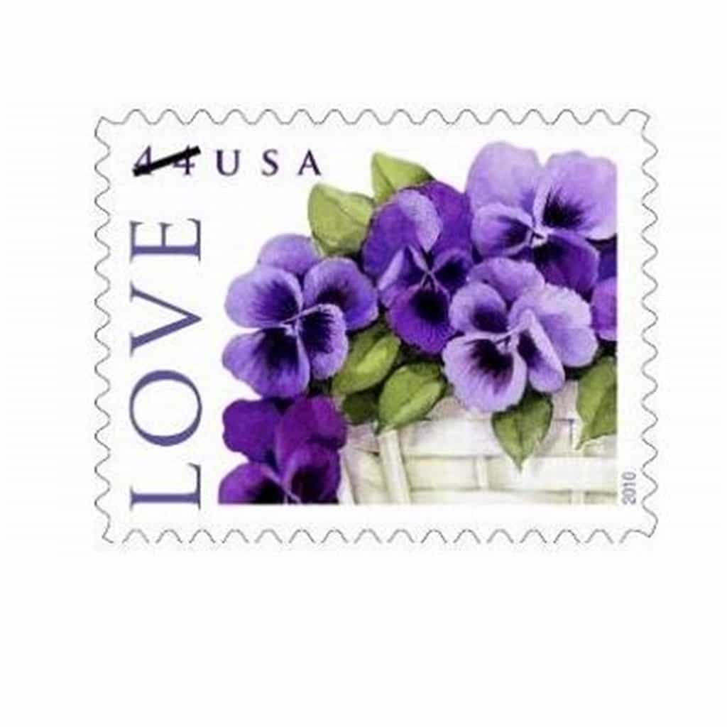 Spring into March Pansies Stationery