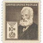 USStamp #893 – 1940 10c Alexander Graham Bell