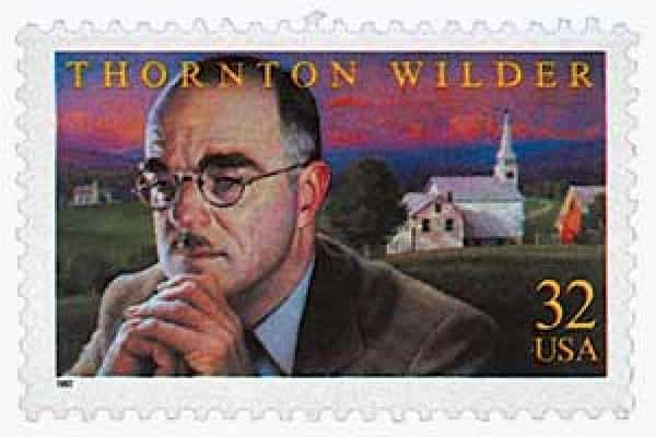 Thornton Wilder 1997 Stamp & The Ides of March