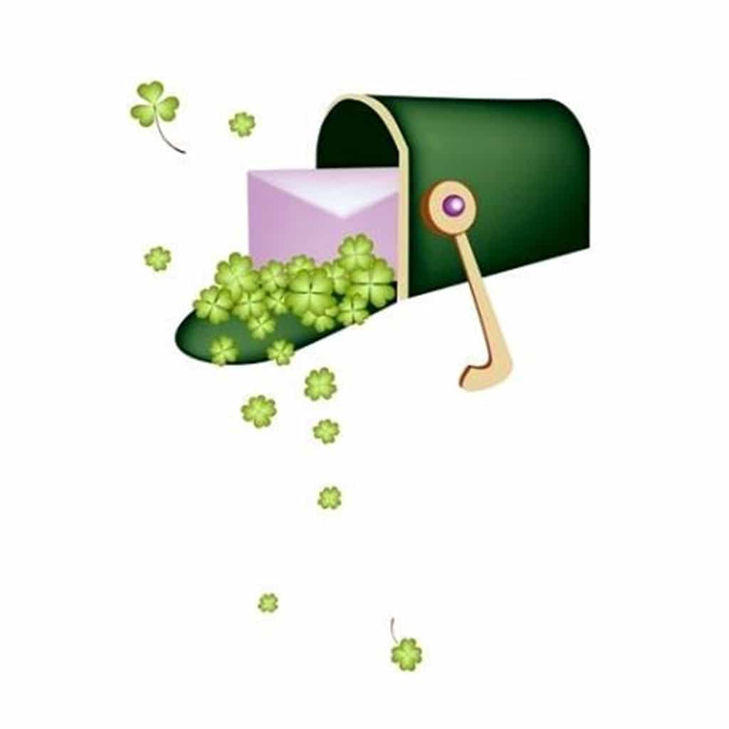 St. Patricks Day Special Fancy Postmarks