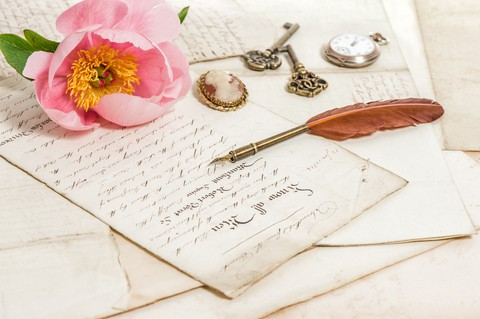Edwardian themed stationery