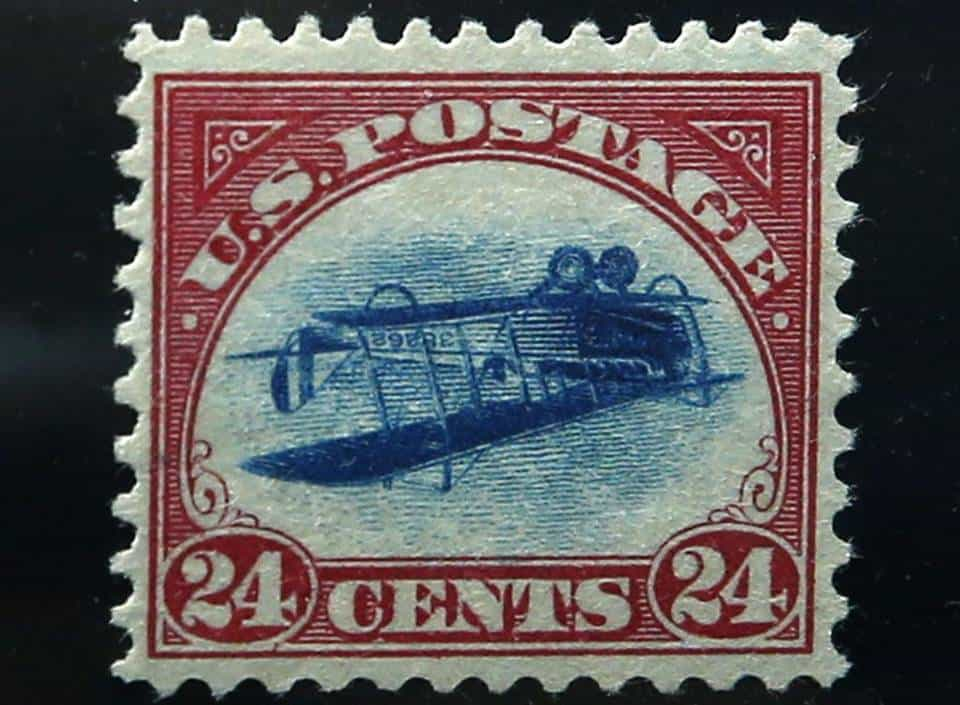 Inverted Jenny Stamp