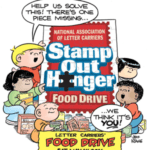 Stamp Out Hunger Food Drive Saturday May 14
