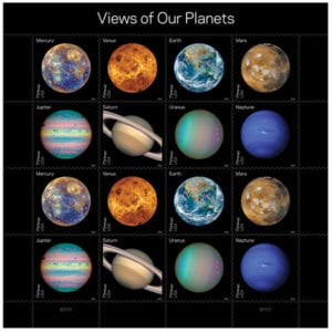 Included in blog post Planets Pluto Stamps May 2016 Recap