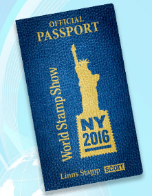 World Stamp Show-NY 2016 Passport