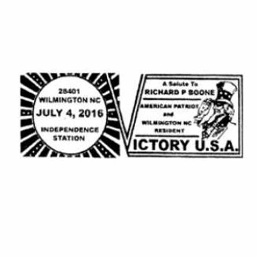 July 4th Special Fancy Pictorial Postmarks