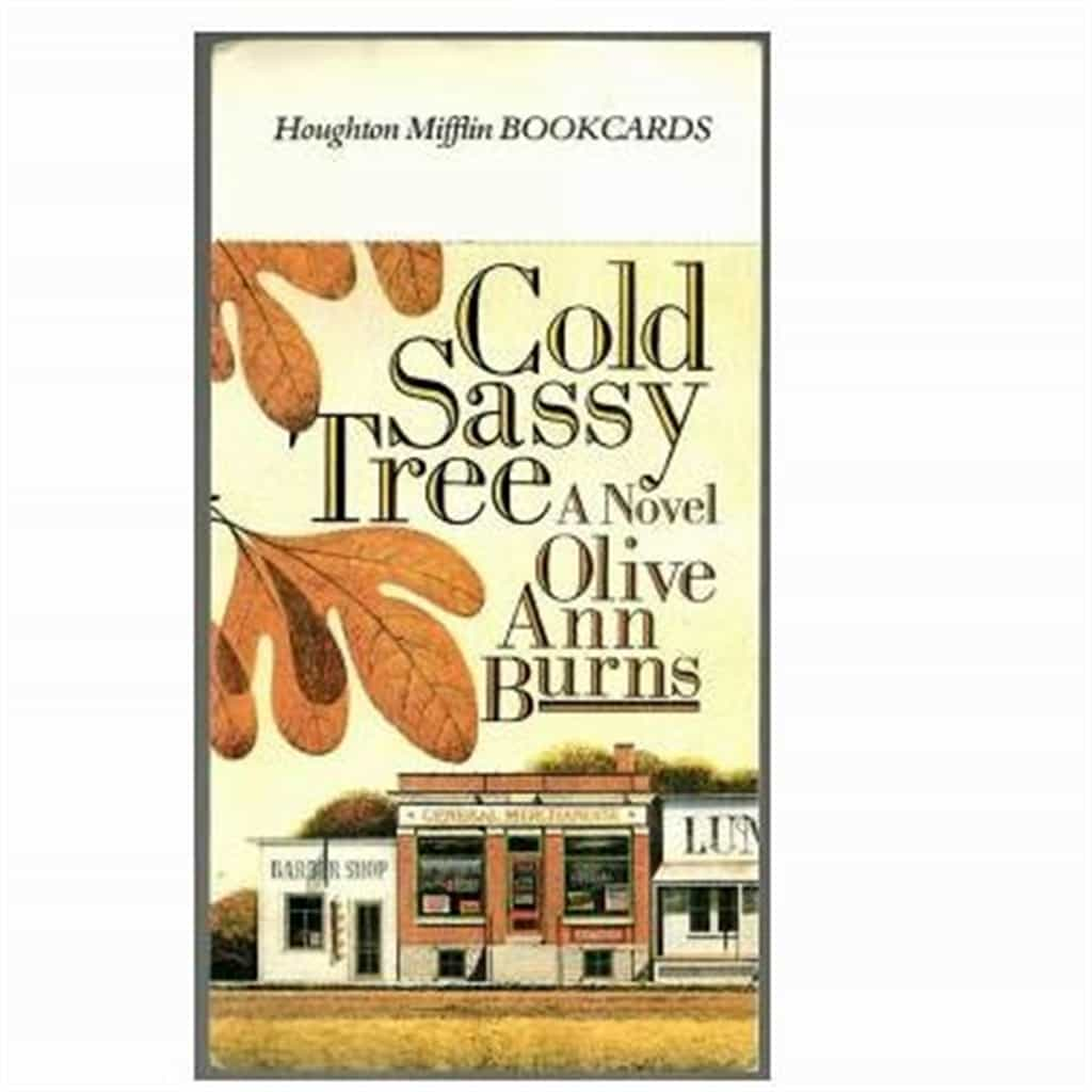 Postcard Advertising Cold Sassy Tree