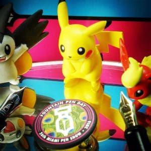 Pokémon Go Fountain Pens & Miami Pen Show