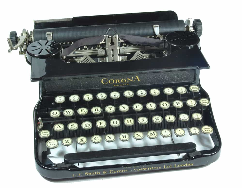The Original TYPE-O-MATIC hand typed letters