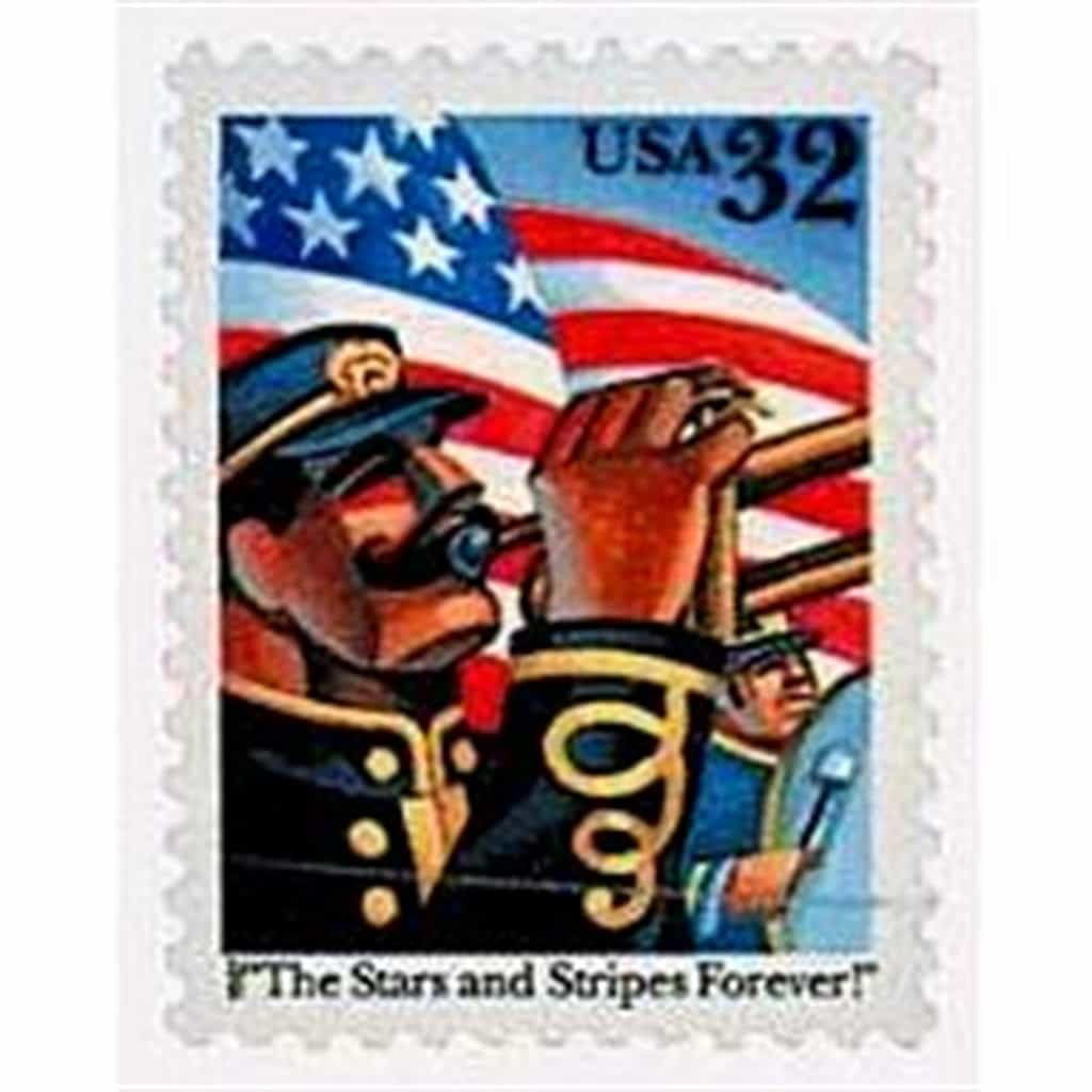 John Philip Sousa Commemorative 1997 Stamp