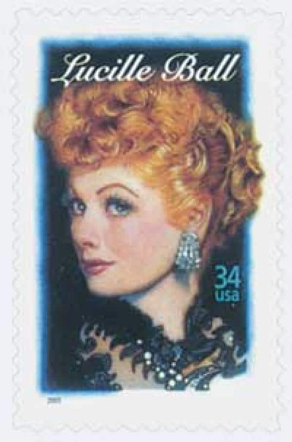 2001 Lucille Ball Commemorative Stamp