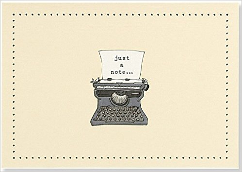 Peter Pauper Press Typewriter Note Cards