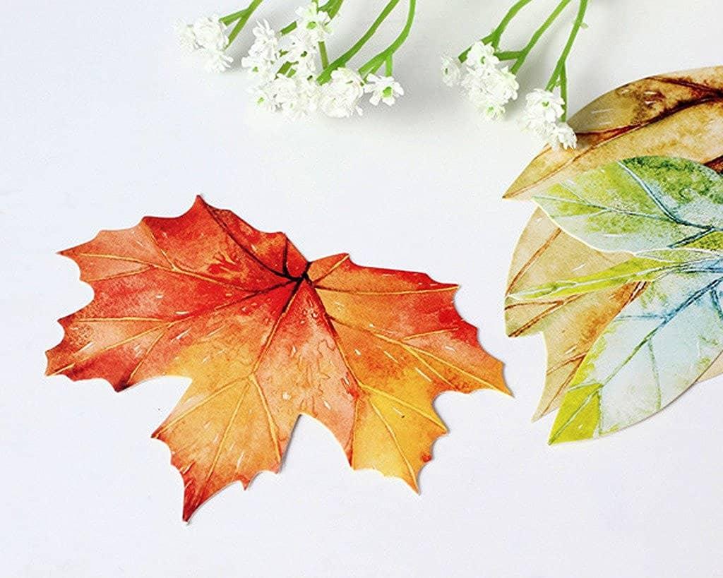 Monday Motivation Big Rocks & Autumn Leaf Shape Postcards