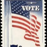 Register and Vote Commemorative 1964 stamp