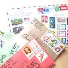 Personal Handwritten Letter Subscriptions