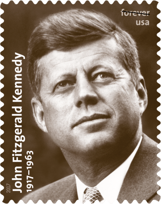 JFK Forever Stamp Presidents Day 2017