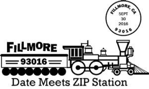 Fillmore Zippy day 93016 Pictorial Postmark