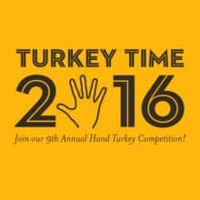 2016 Annual Hand Turkey Competition