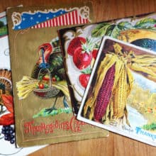 Cathe Holden Vintage Thanksgiving Postcards