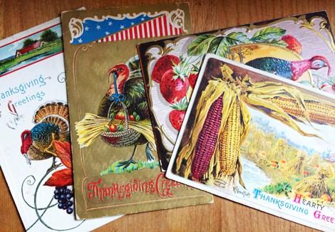 Cathe Holden Vintage Thanksgiving Postcards