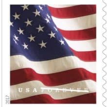 New US Flag Stamp Arriving January 27
