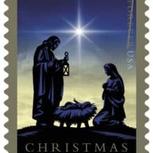 USPS 2016 Christmas Nativity Stamp
