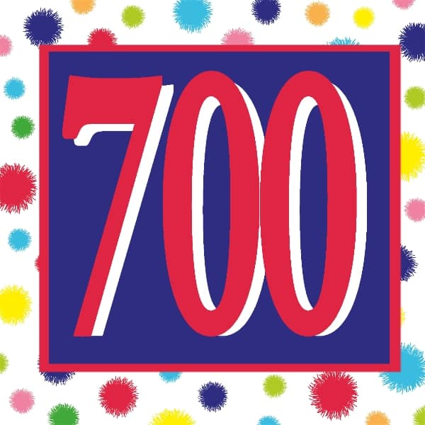 AnchoredScraps.com 700th Daily Blog Post Today