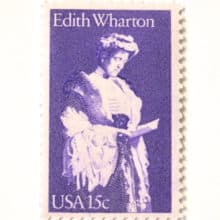 Edith Wharton 1980 stamp