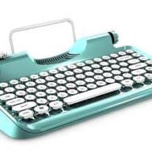 Vintage Steampunk Typewriter Keyboard