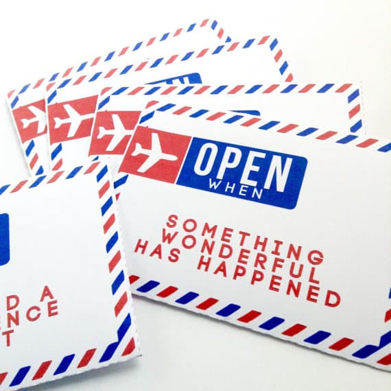 picture regarding Open When Letters Printable known as Open up At the time Letters Printable Envelopes