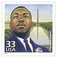 """""""I Have a Dream"""" 1999 stamp"""